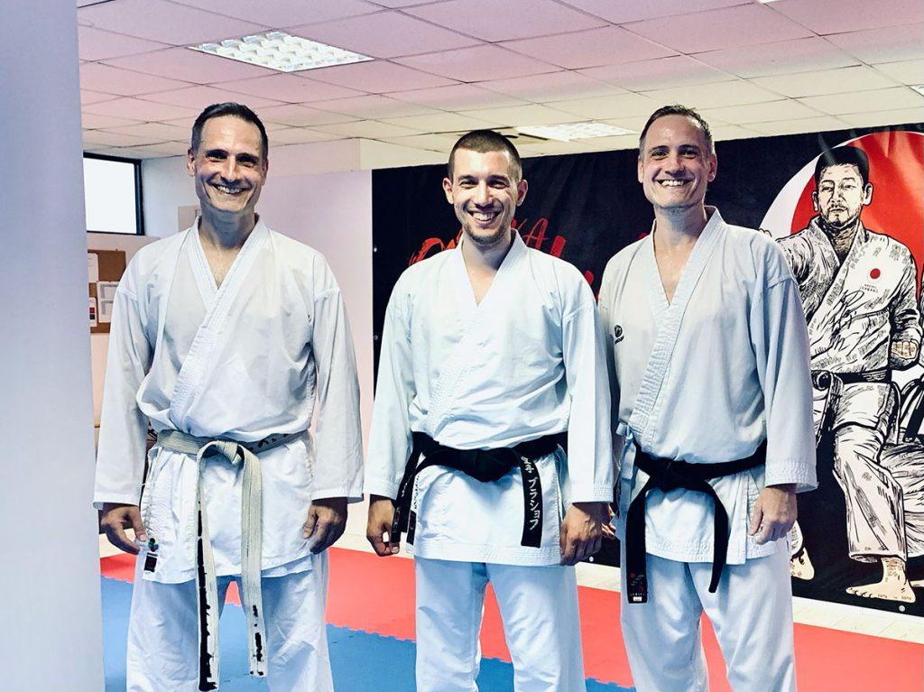 Gruppenbild mit Alcis, Ingo und Dragos
